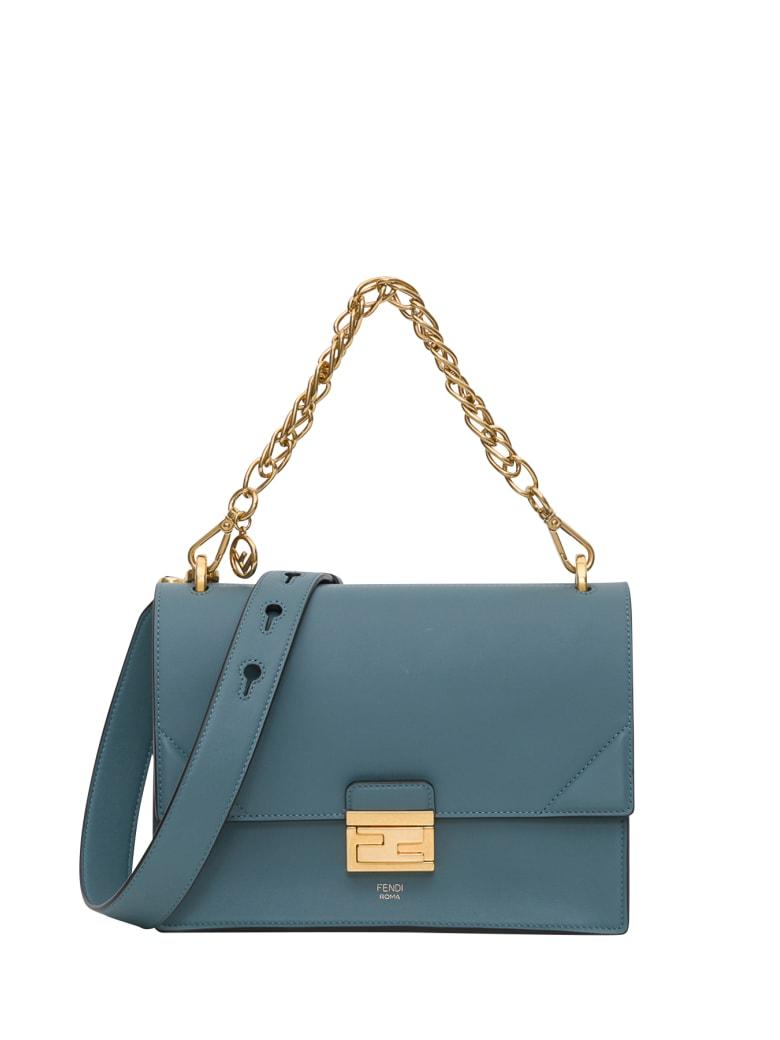 Fendi Kan U Medium Handbag - Verde