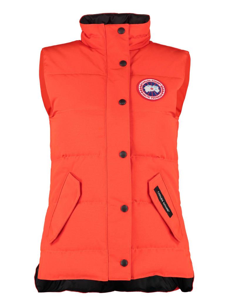 Canada Goose Freestyle Body Warmer Jacket - Orange