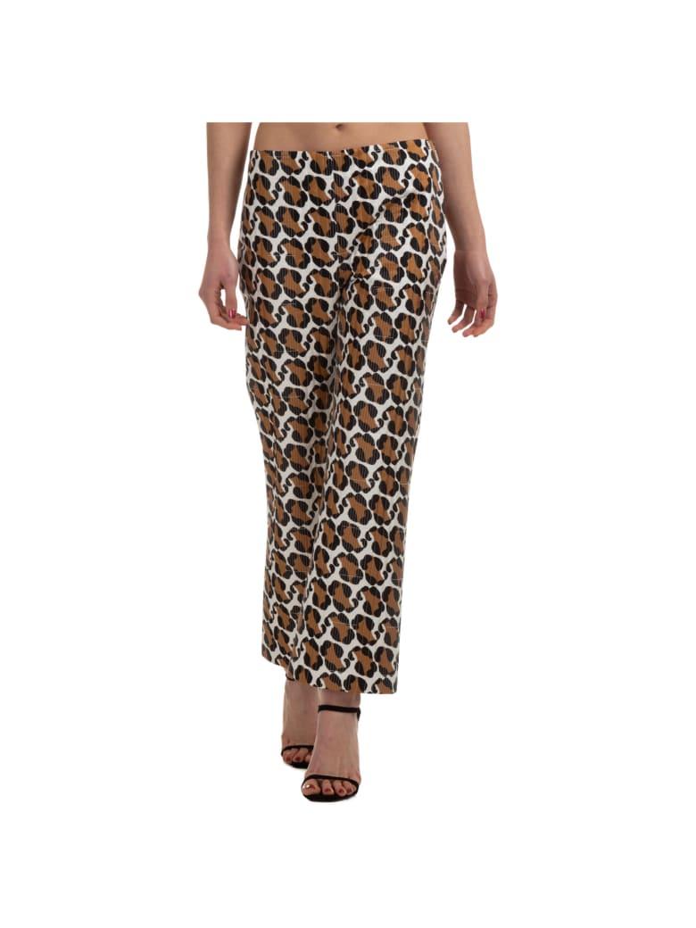 Fendi Tiger Trousers - Marrone