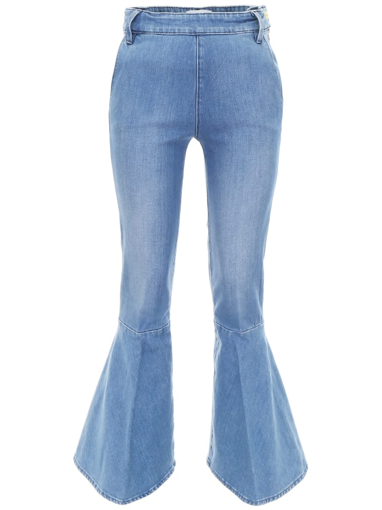 Frame Flounce Jeans - COPELAND (Blue)