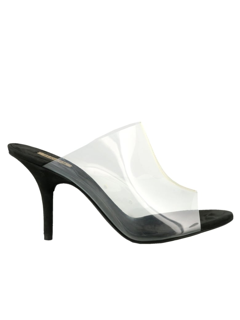 Yeezy Pvc Mule - Clear & graphite
