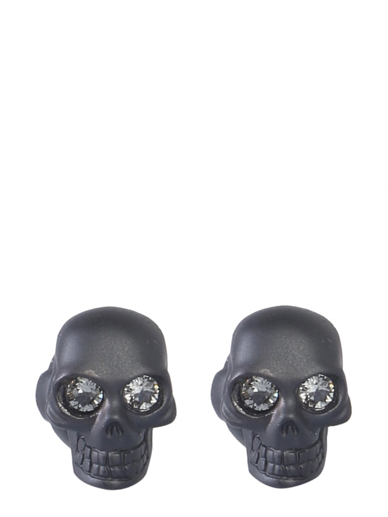 Alexander McQueen Skull Cufflinks - NERO