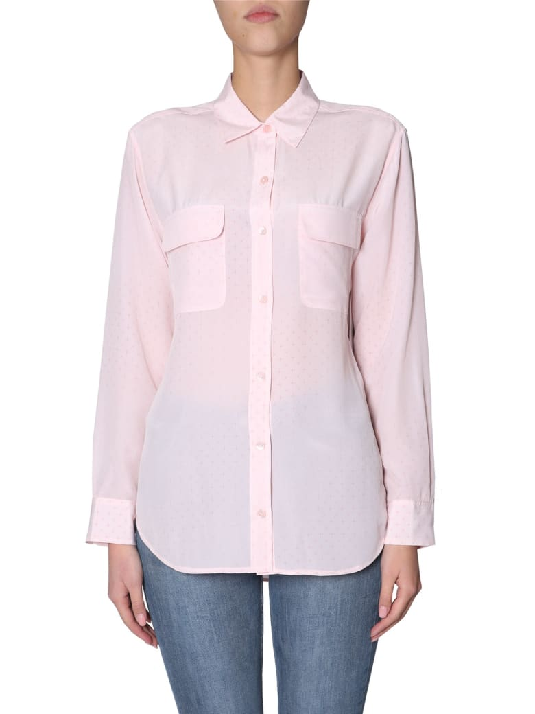 Equipment Silk Shirt - ROSA