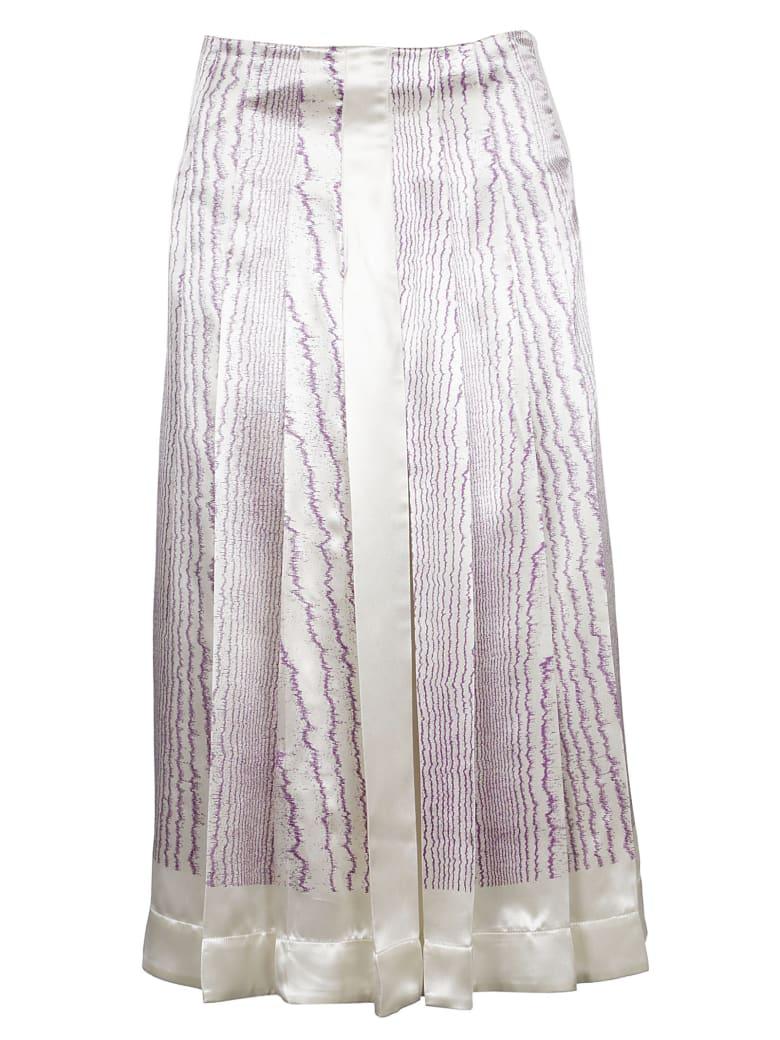 Victoria Beckham  - Purple/ivory/blue