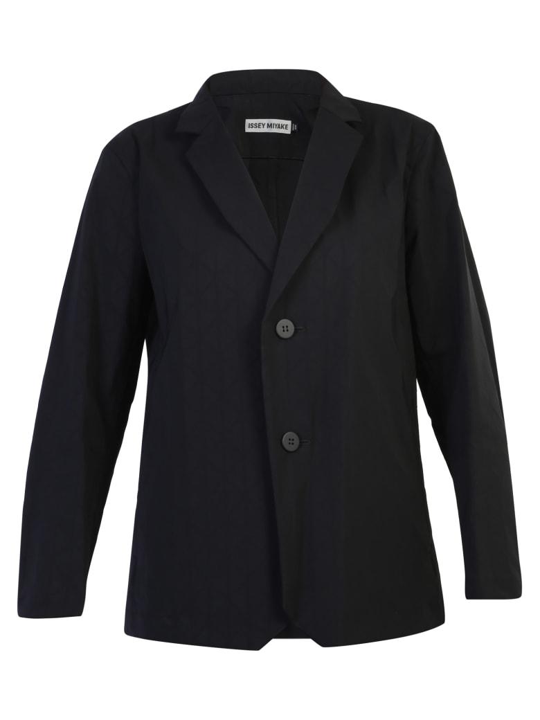 Issey Miyake Single-breasted Jacket - Black