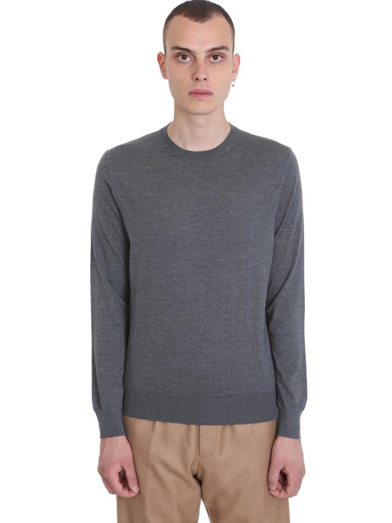 Ermenegildo Zegna Knitwear In Grey Wool - grey