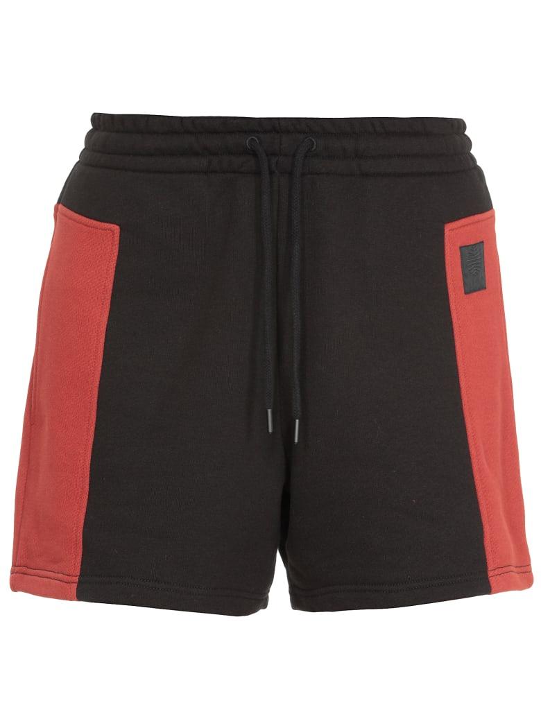 McQ Alexander McQueen Cotton Short - DARKEST BLACK/RUST