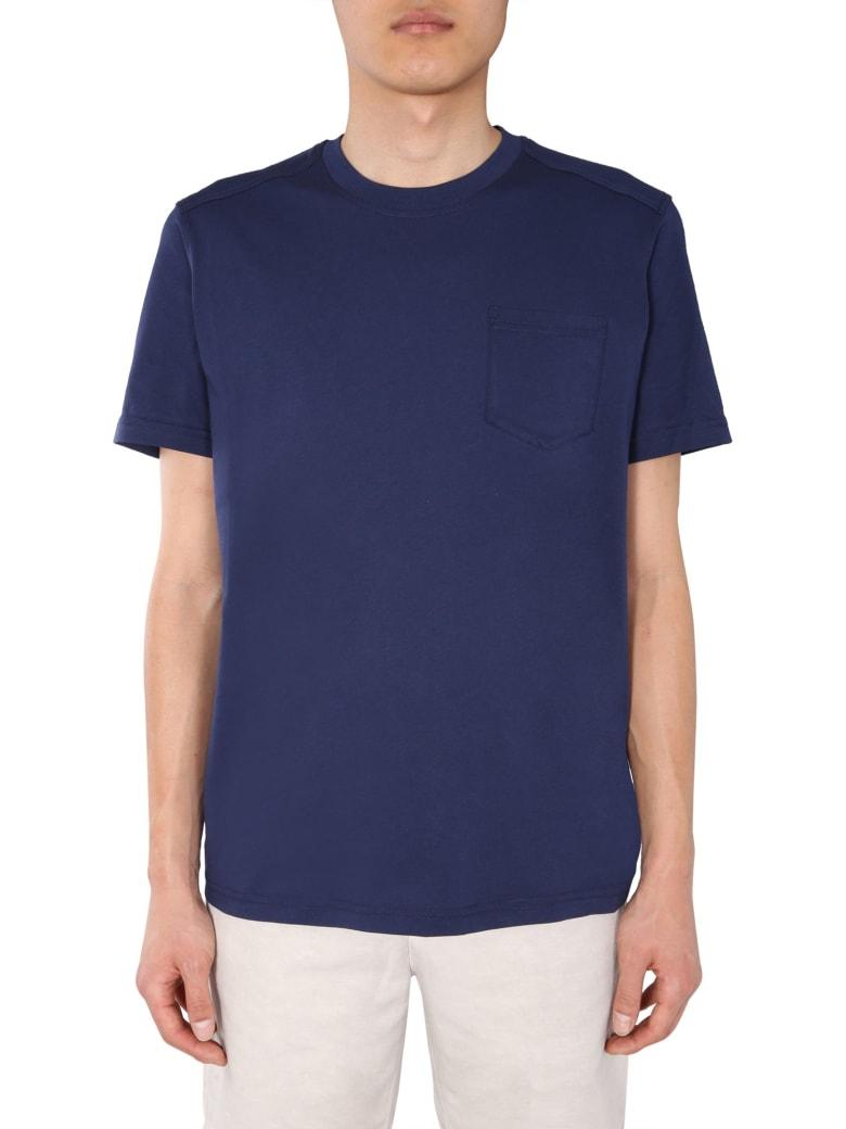 Belstaff Round Neck T-shirt - BLU