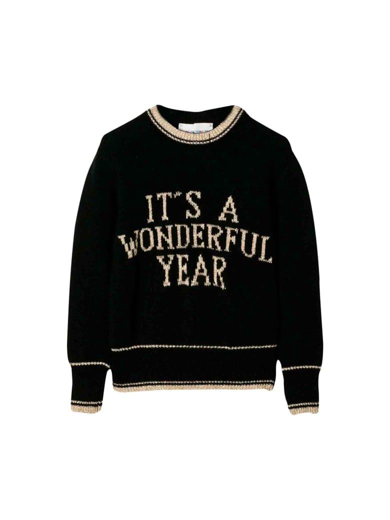 Alberta Ferretti Black Sweater - Nero