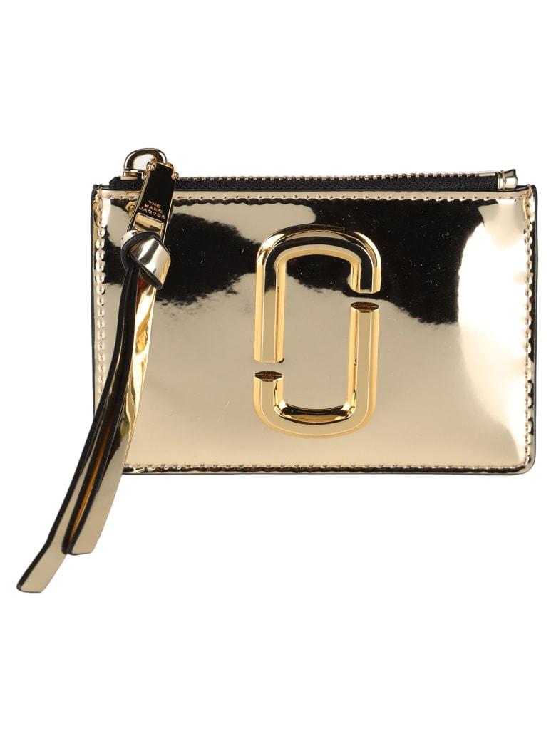 Marc Jacobs The Snapshot Mirrored Top-zip Multi Wallet - GOLD