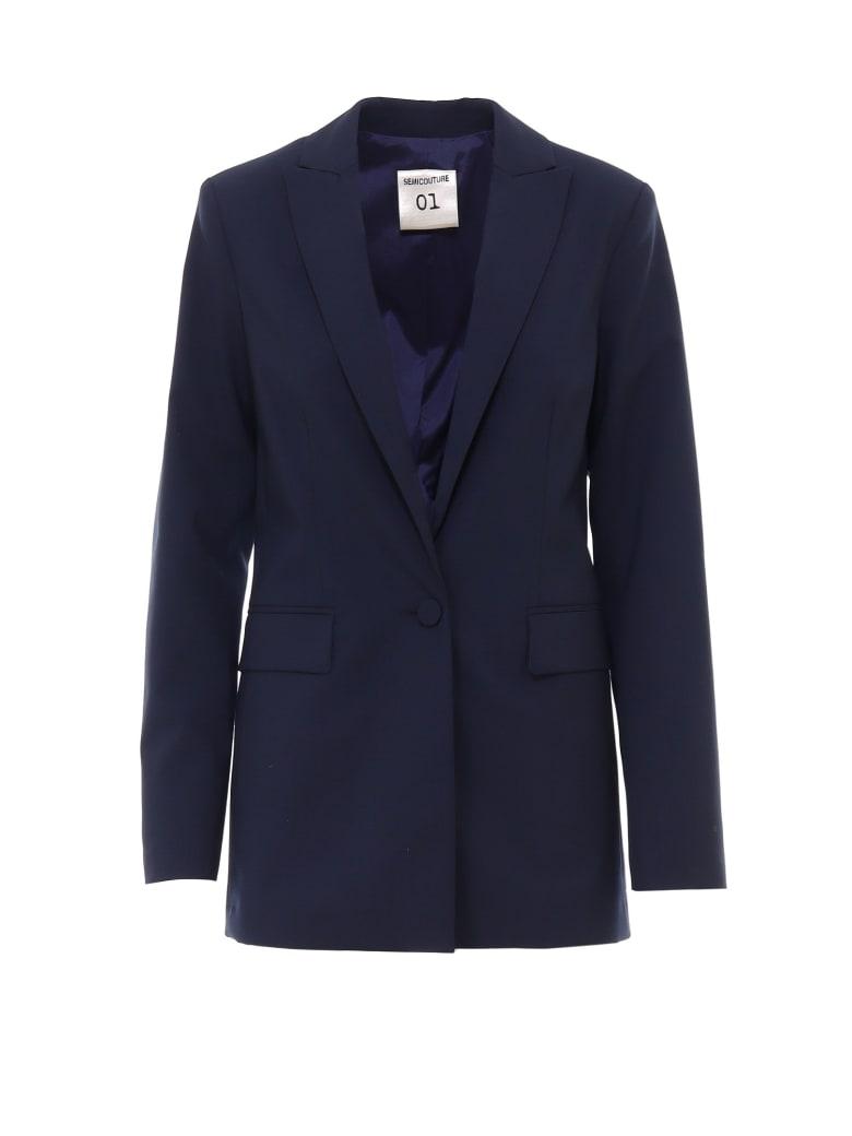 SEMICOUTURE Blazer - Blue