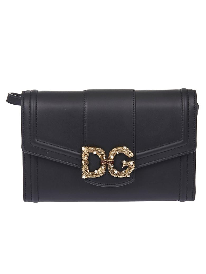 Dolce & Gabbana Logo Shoulder Bag - Nero