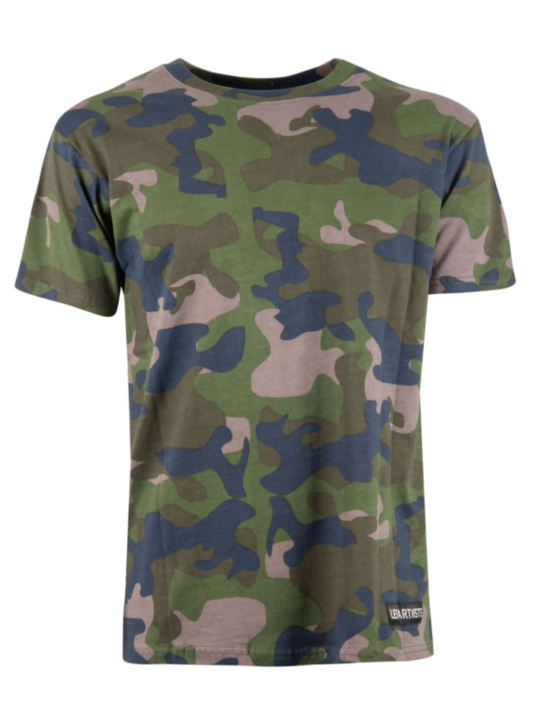 Les Artists Camouflage T-shirt - Multicolor