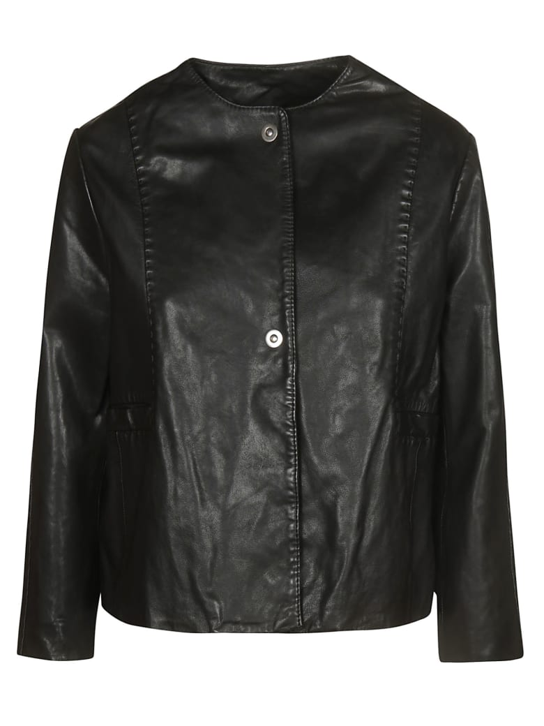 Bully Chanel Leather Jacket - Black