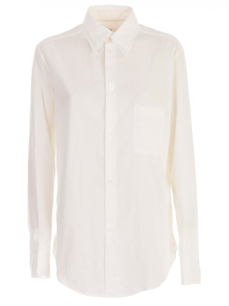Y's Dobule Collar Shirt - White