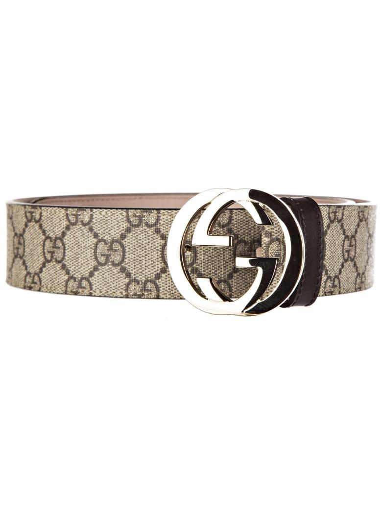 Gucci Special Swallow Belt - ebony