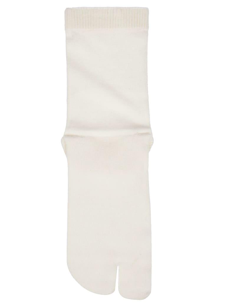 Maison Margiela Tabi Socks - White