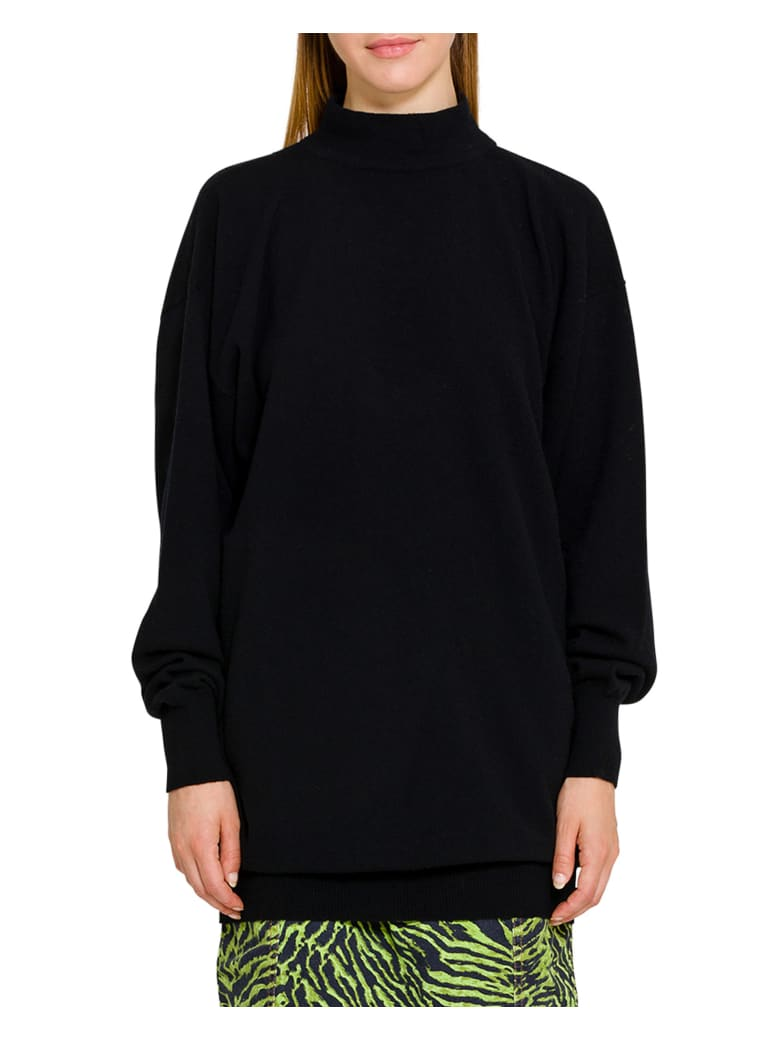 Circus Hotel Cut Out Jumper -  Nero