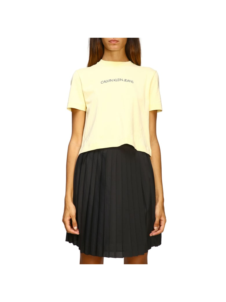 Calvin Klein Jeans T-shirt T-shirt Women Calvin Klein Jeans - yellow