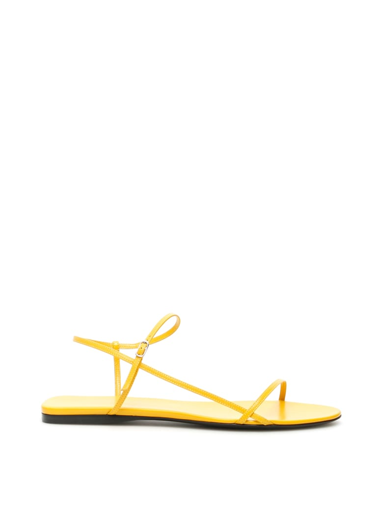 The Row Bare Sandals Flat - MUSTARD (Yellow)