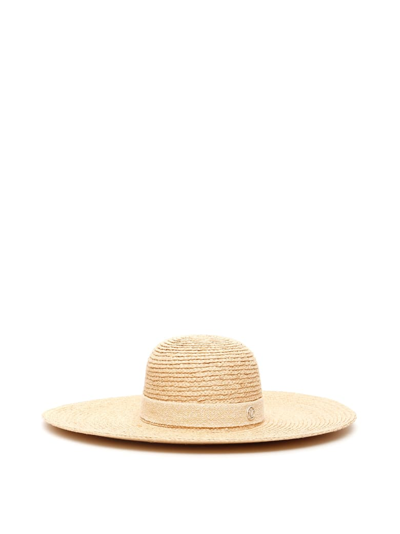 Maison Michel Blanche Straw Hat - NATURAL (Beige)