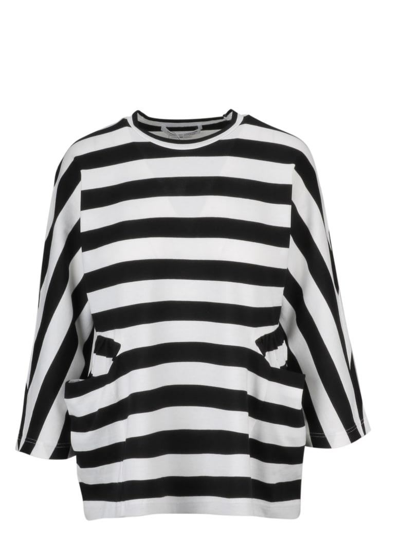 Comme des Garçons Fleece - Black Off White
