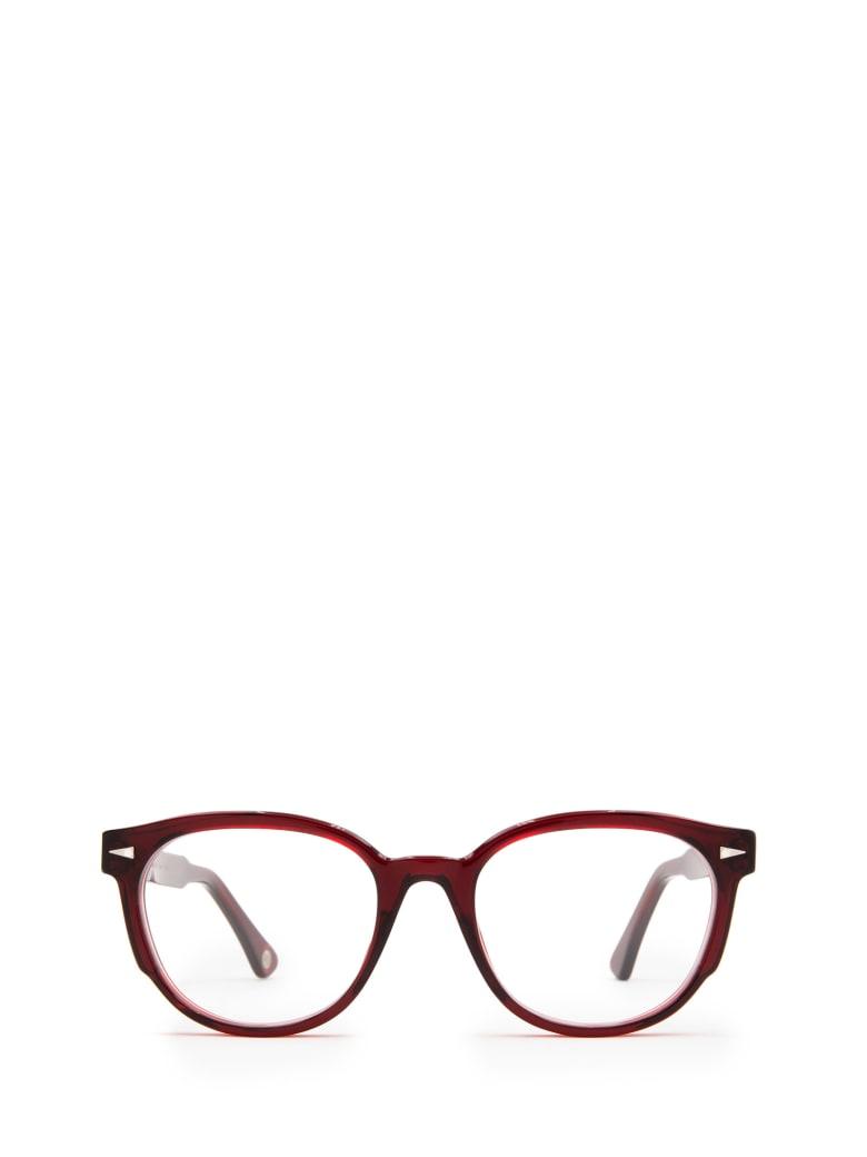 AHLEM Ahlem Rue Keller Burgundy Glasses - Burgundy