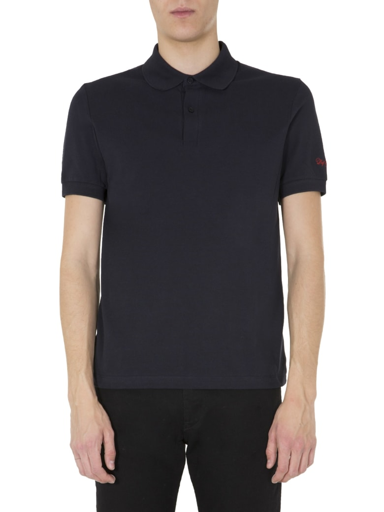 Fred Perry by Raf Simons Slim Fit Polo - BLU