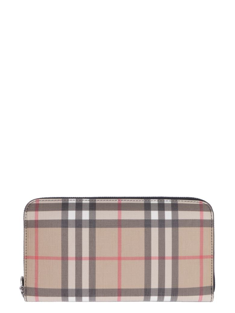 Burberry Vintage Check Wallet - Beige