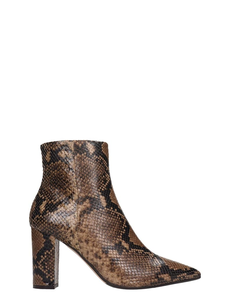 The Seller Ankle Boots In Brown Leather - brown