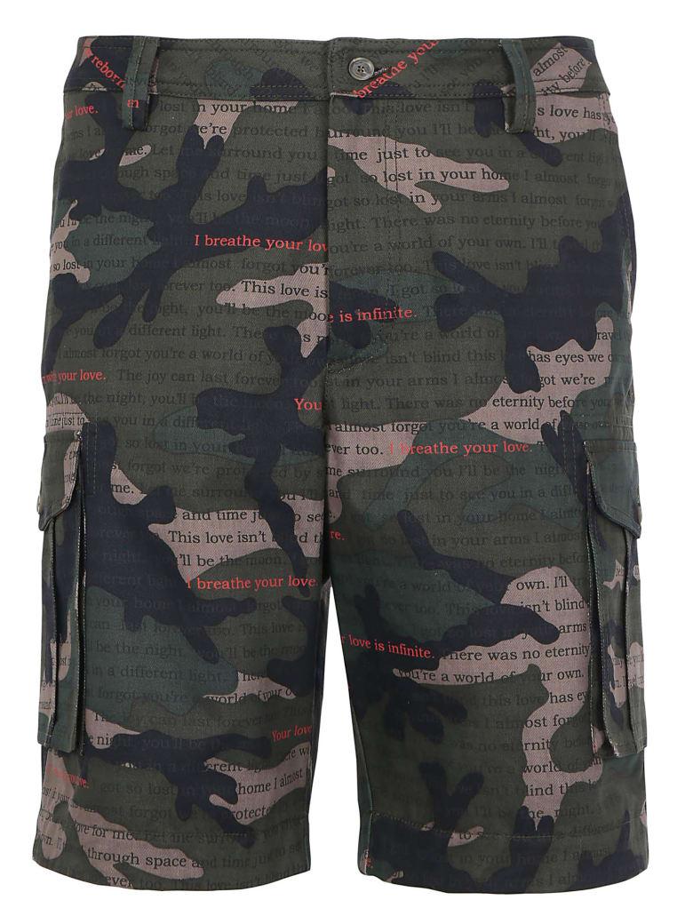 Valentino Bermuda Shorts - Camou love