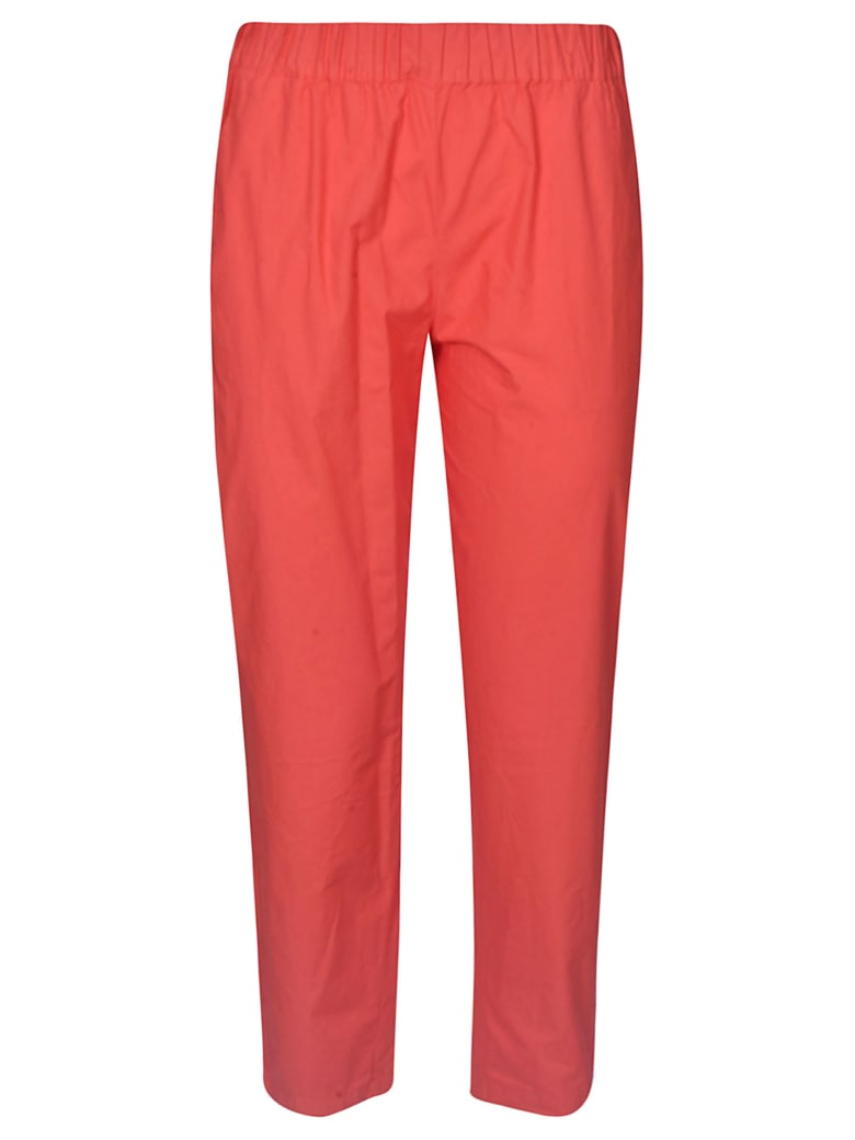 Erika Cavallini Classic Cropped Trousers - Red