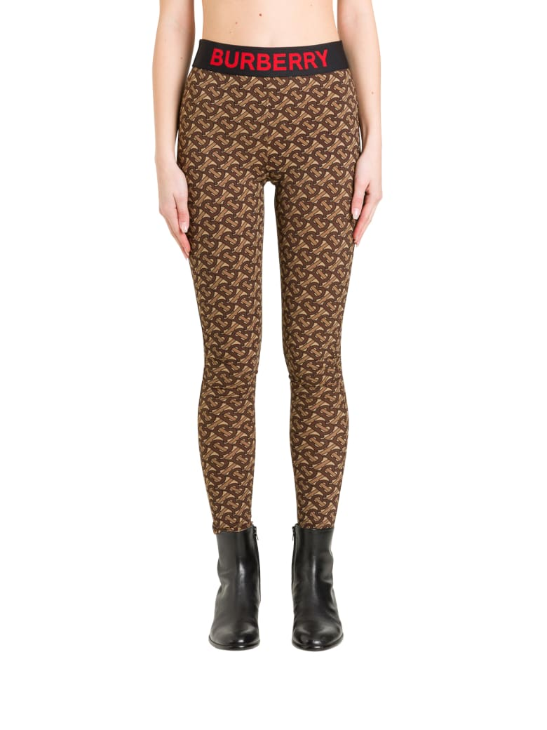 Burberry Authie Leggings - Marrone