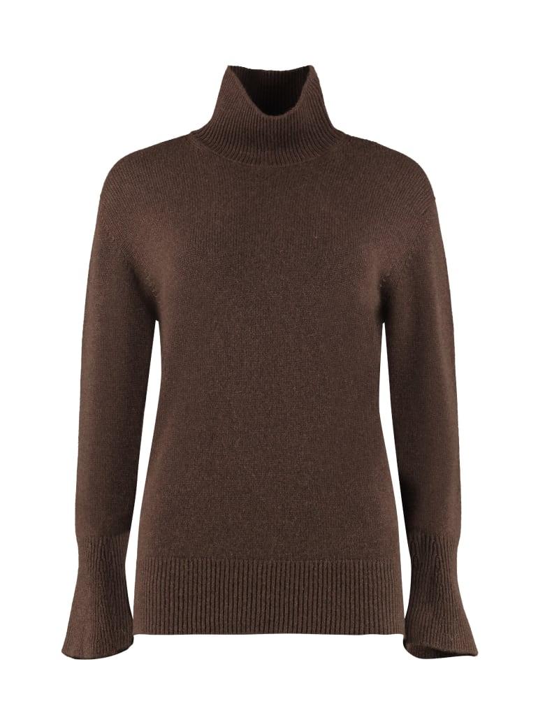 Agnona Cashmere Turtleneck Sweater - brown