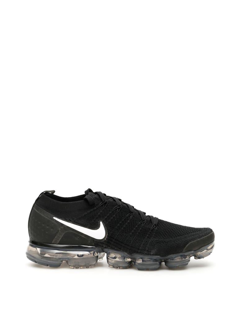 Nike Air Vapormax Flyknit 2 Sneakers - BLACK WHITE DARK GREY (Black)