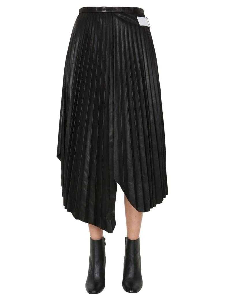 Helmut Lang Pleated Skirt - GRIGIO