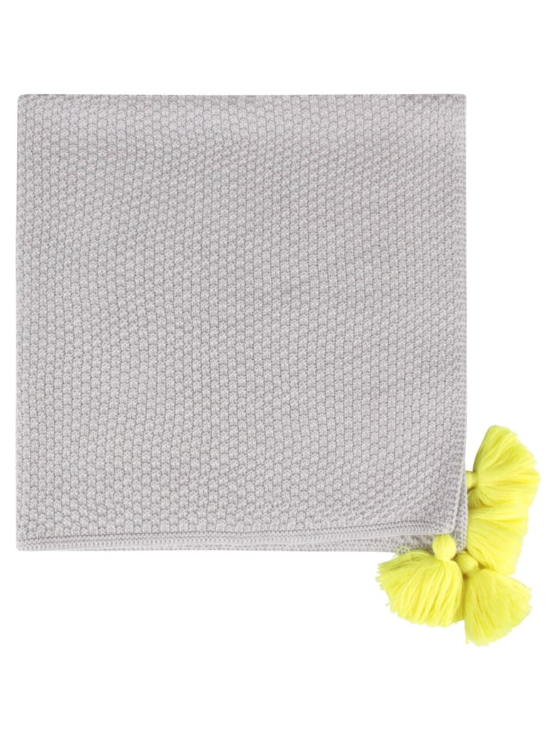 Little Bear Grey Blanket For Babykids - Grey