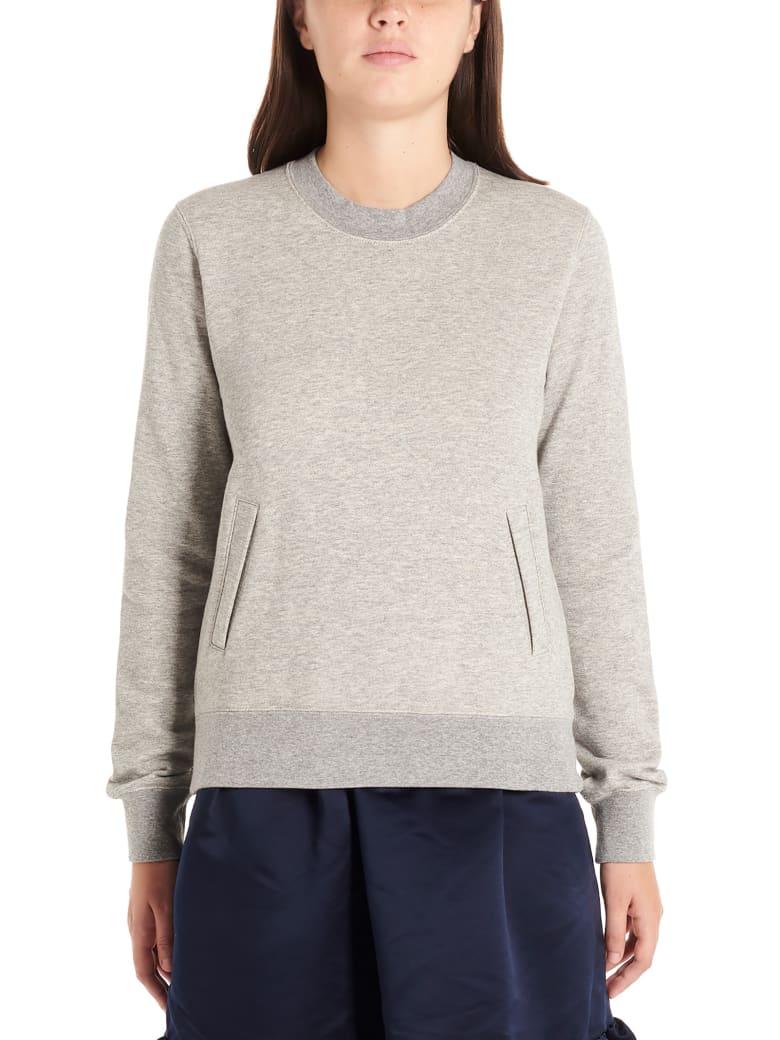 Comme Des Garçons Girl 'heart' Sweatshirt - Grey