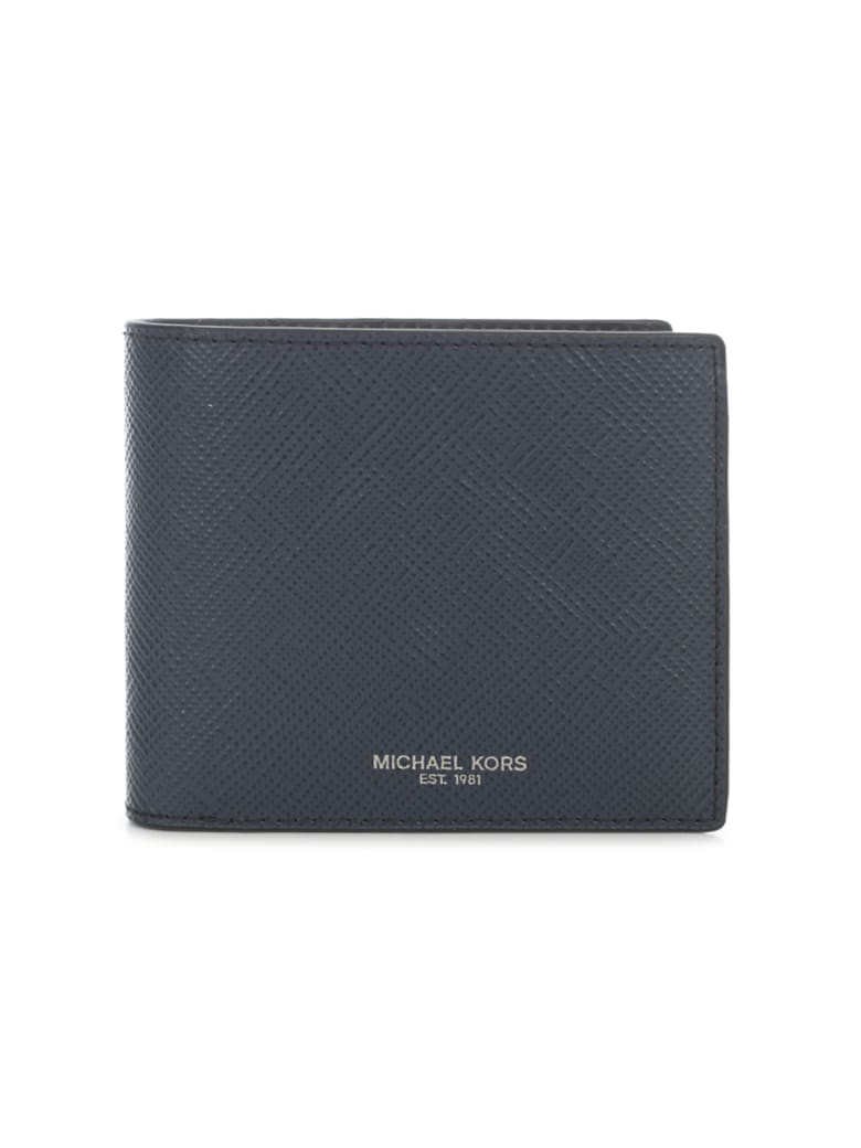 Michael Kors Billfold With Coin Pocket - Navy