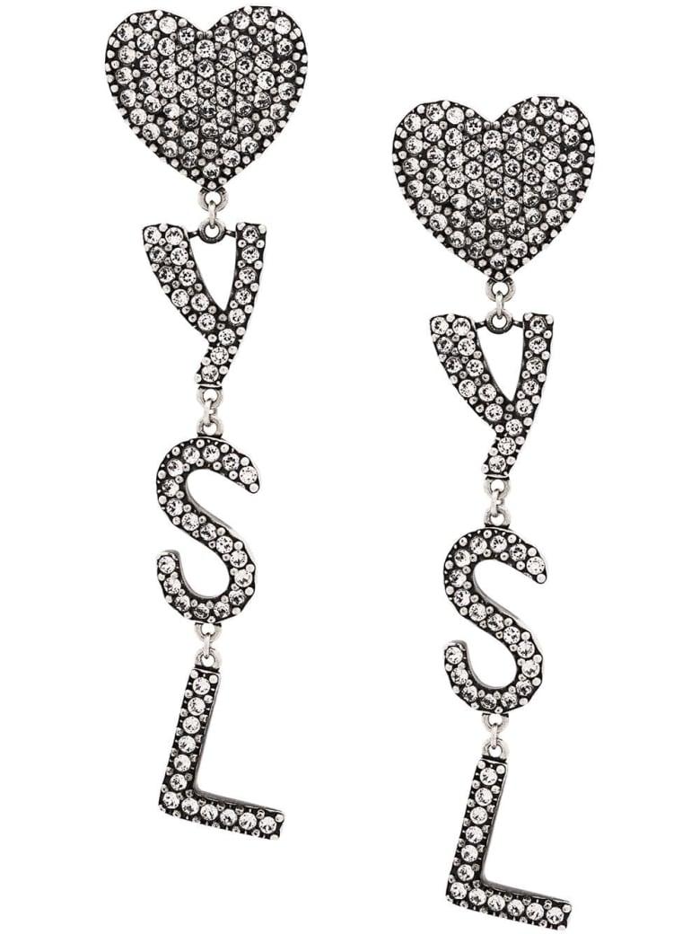 Saint Laurent Earring - Argent Oxy