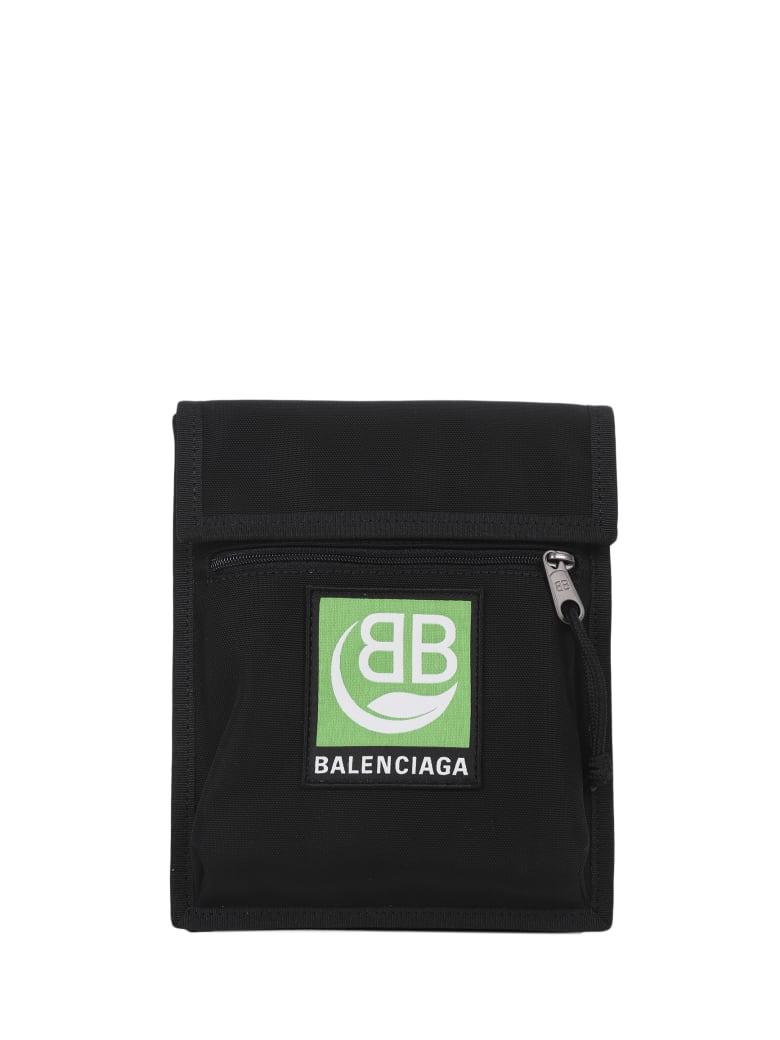 Balenciaga Nylon Pouch - Black