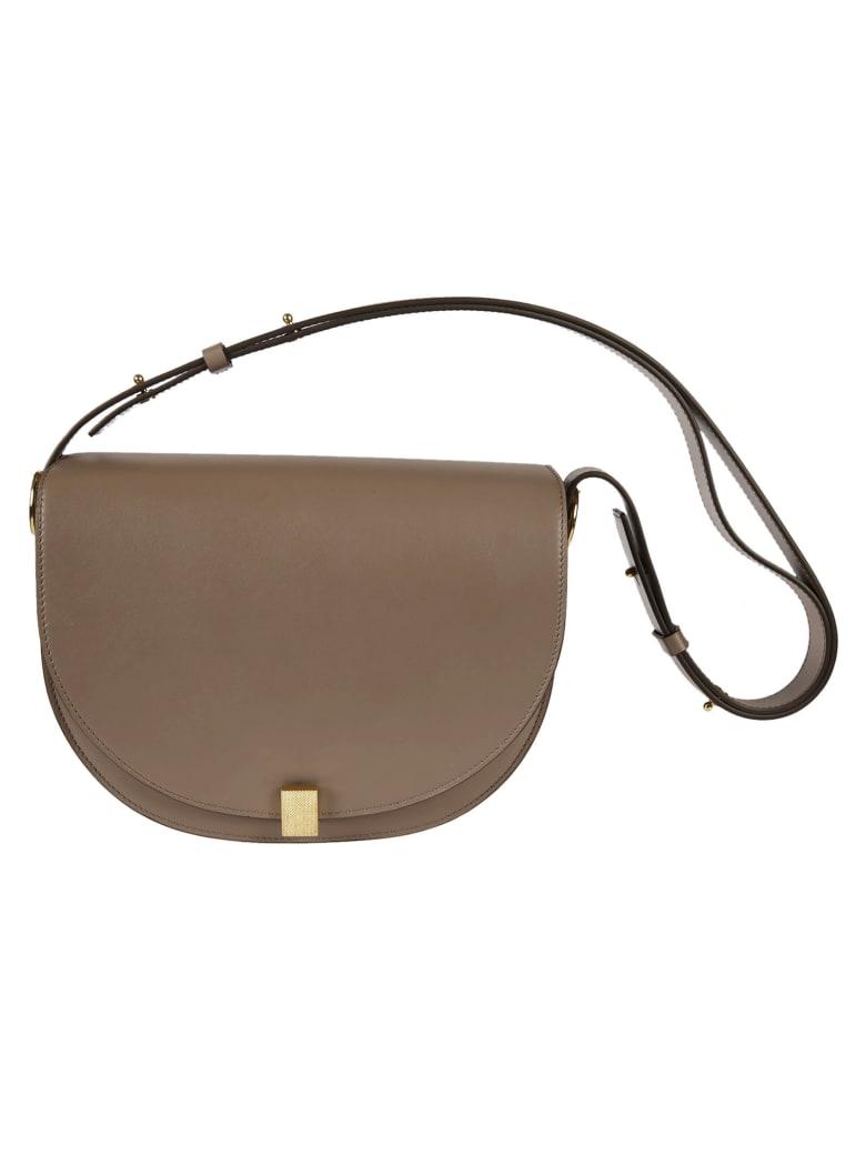 Victoria Beckham Saddle Shoulder Bag - Dove
