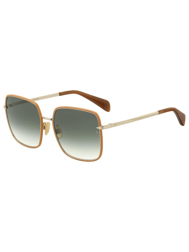 Rag & Bone RNB1032/S Sunglasses - K Brown Gold