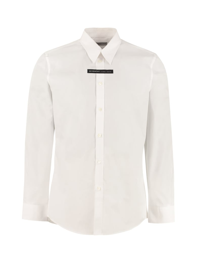 Givenchy Cotton Poplin Shirt - White