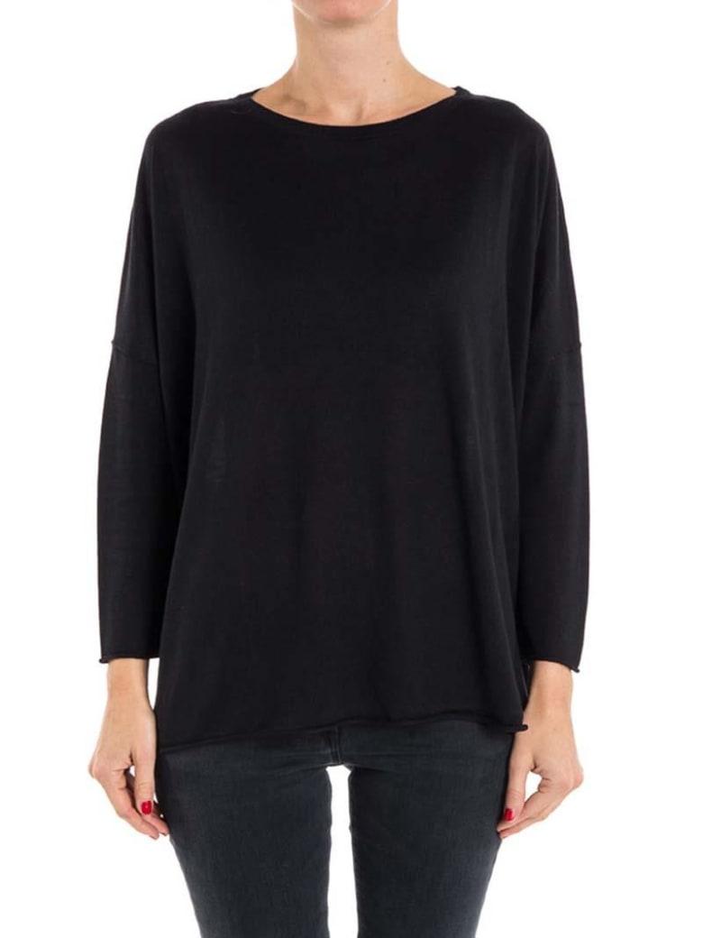 Kangra Silk And Cashmere Sweater - BLACK