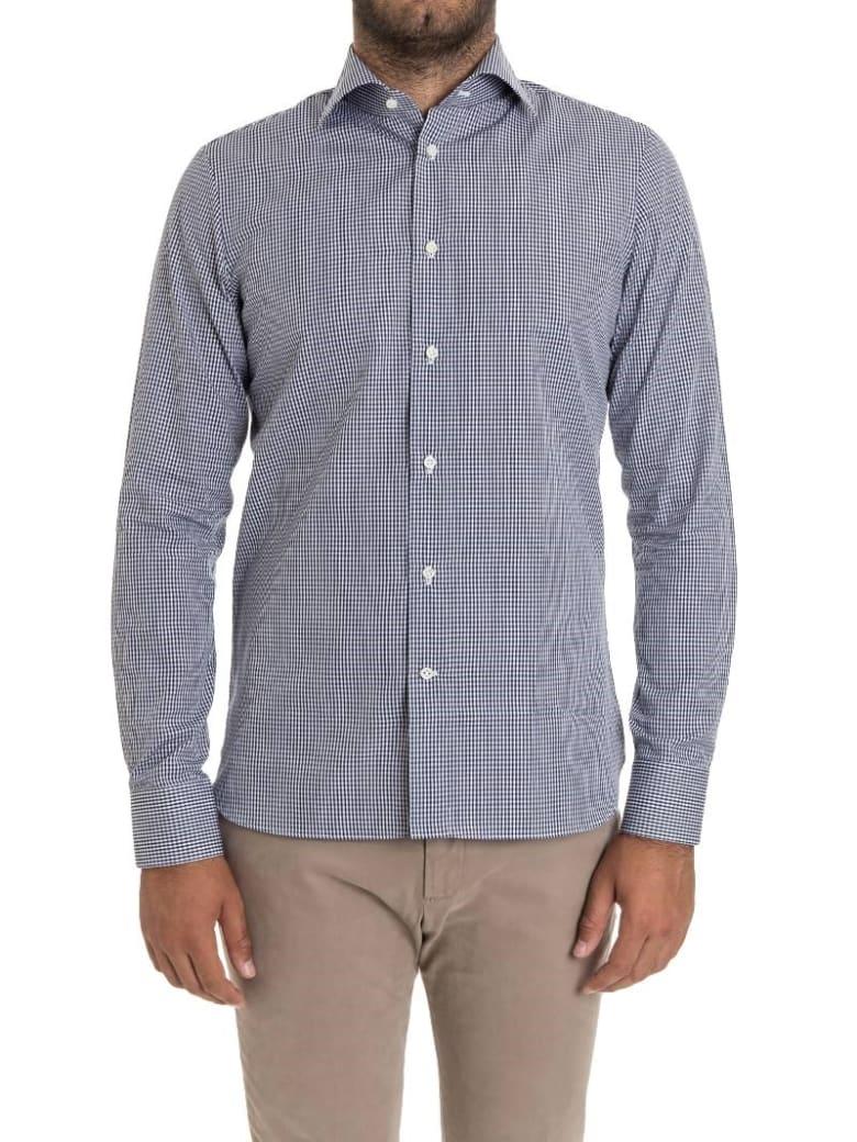 G. Inglese Ginglese Cotton Shirt - Light blue