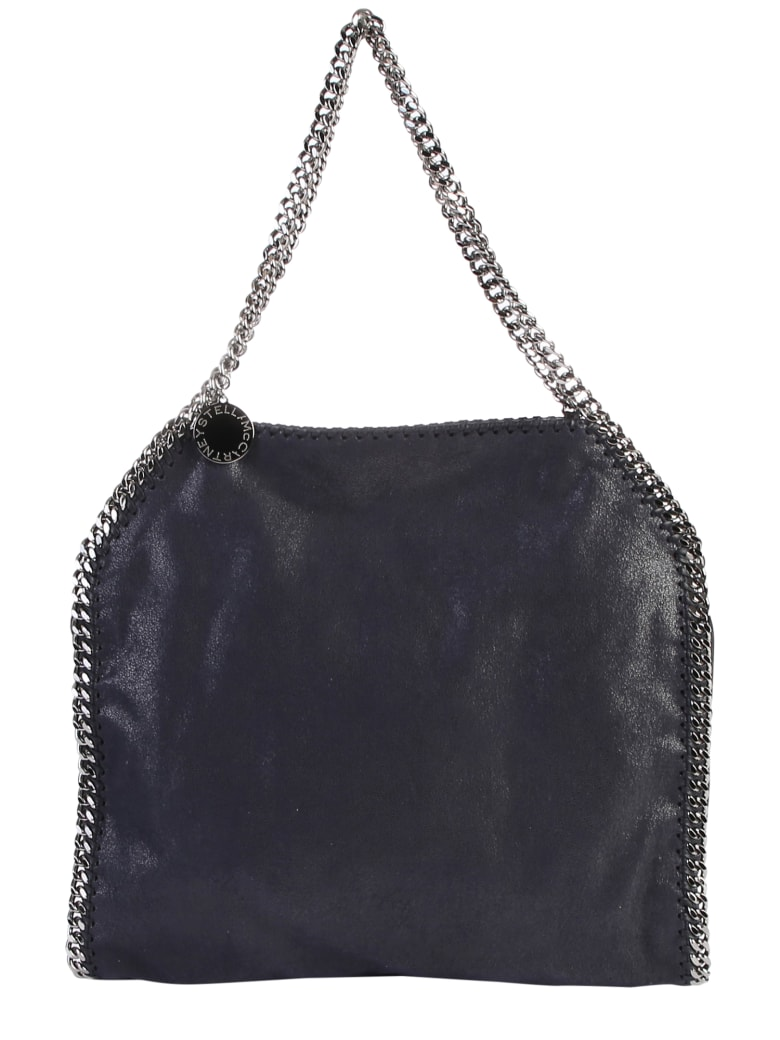 Stella McCartney Blue Falabella Double Chain Bag - Blue