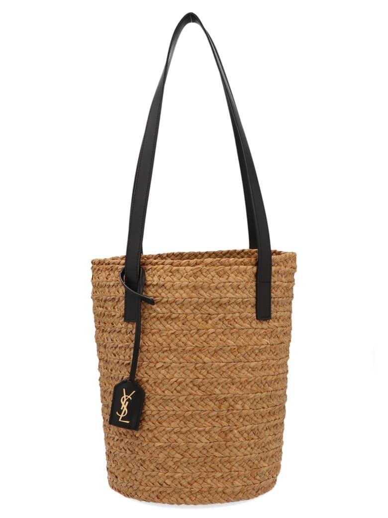 Saint Laurent 'panier' Bag - Beige