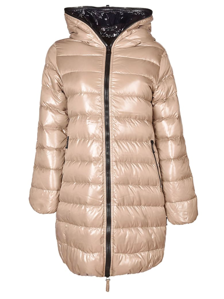 Duvetica Ace Long Padded Jacket - Beige
