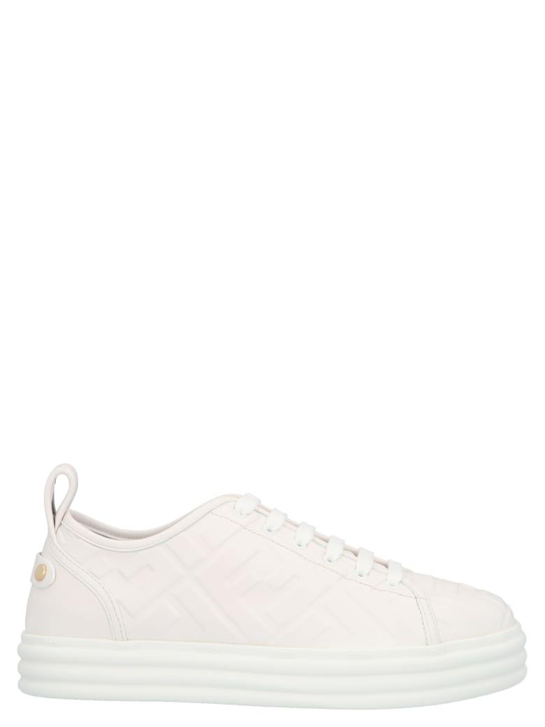 Fendi 'ff' Shoes - Bianco